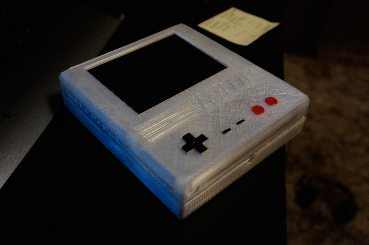 nes 3d printed case