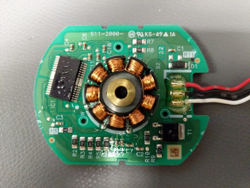 The PCB exposed. TELL ME YOUR SECRETS!