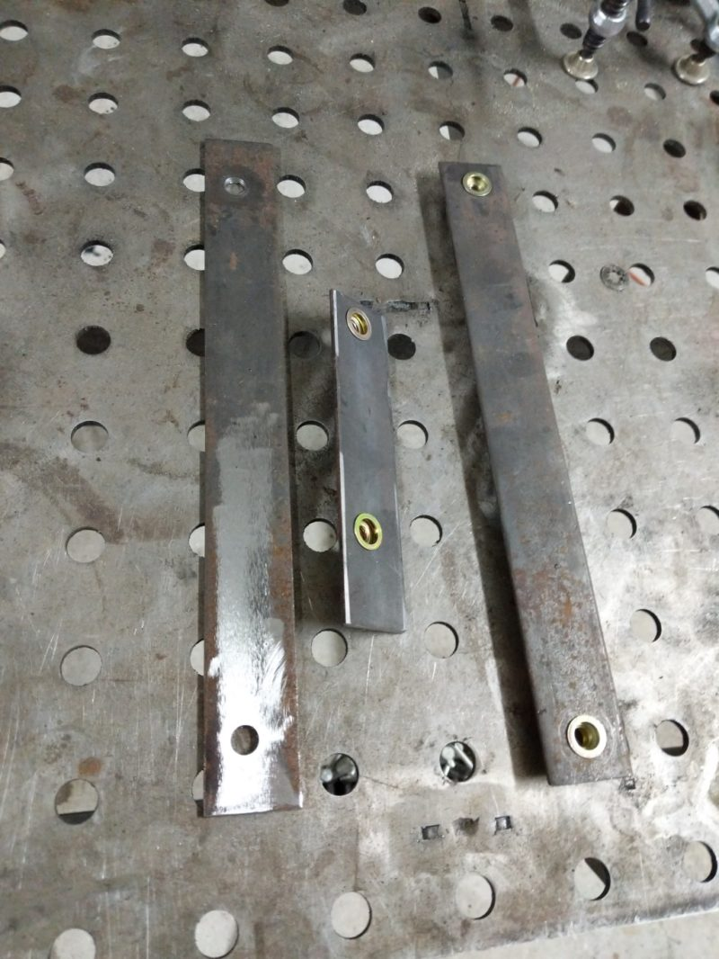 Brackets for the triangle brace.