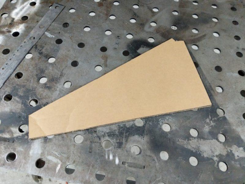 Cardboard cutout.